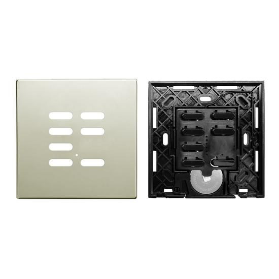 Wise Switch 7 Channel Polished Nickel 3V