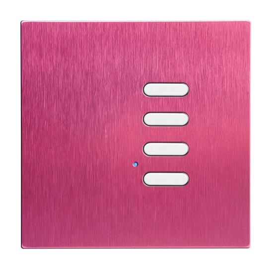 Wise Switch 4 Channel Pink Aluminium 3V