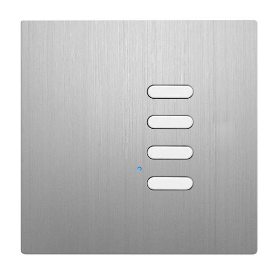 Wise Switch 4 Channel Aluminium 3V