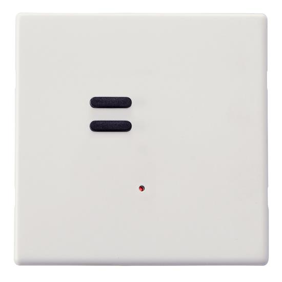 Wise Vogue Switch Primed White 2 Channel
