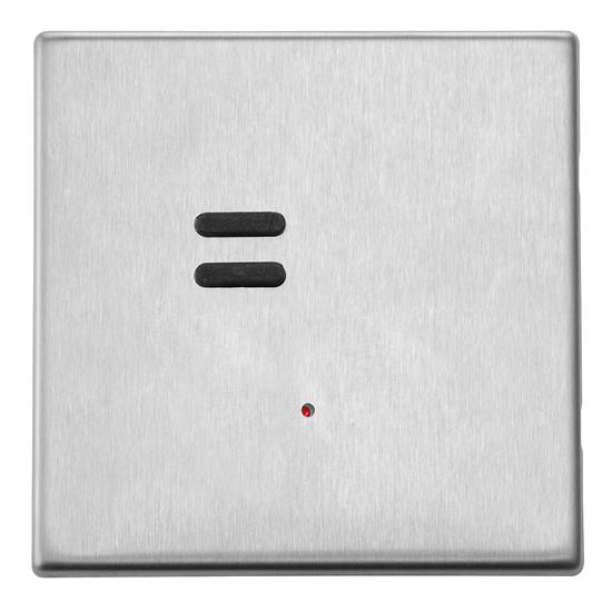 Wise Vogue Switch Satin Stainless Steel 2 Channel