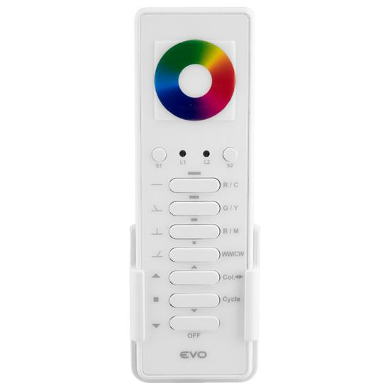 Wise Evo Colour Wheel Remote 7 Channel Black