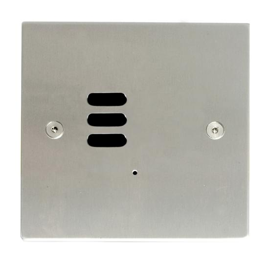 Wise ID Switch Satin Stainless Steel 3 Channel