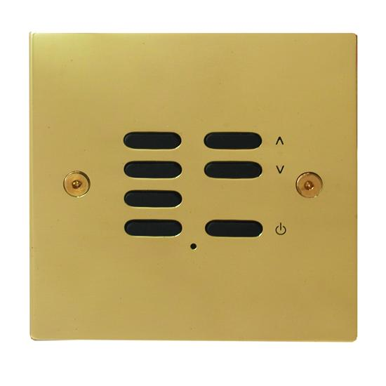 Wise ID Switch Polished Brass 7 Channel
