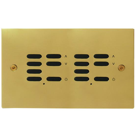 Wise ID Switch Polished Brass 7 + 7 Channel