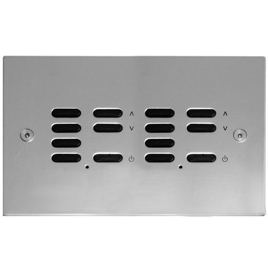 Wise ID Switch Polished Stainless Steel 7 + 7 Channel