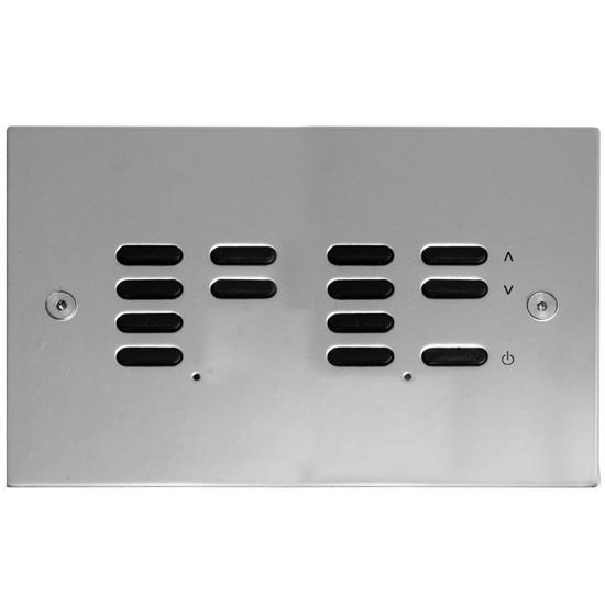 Wise ID Switch Polished Stainless Steel 7 + 6 Channel