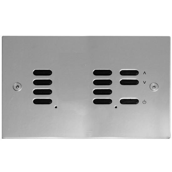 Wise ID Switch Polished Stainless Steel 7 + 4 Channel