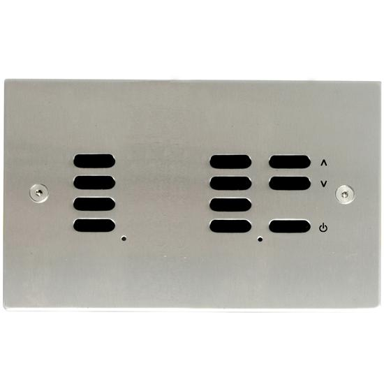 Wise ID Switch Satin Stainless Steel 7 + 4 Channel